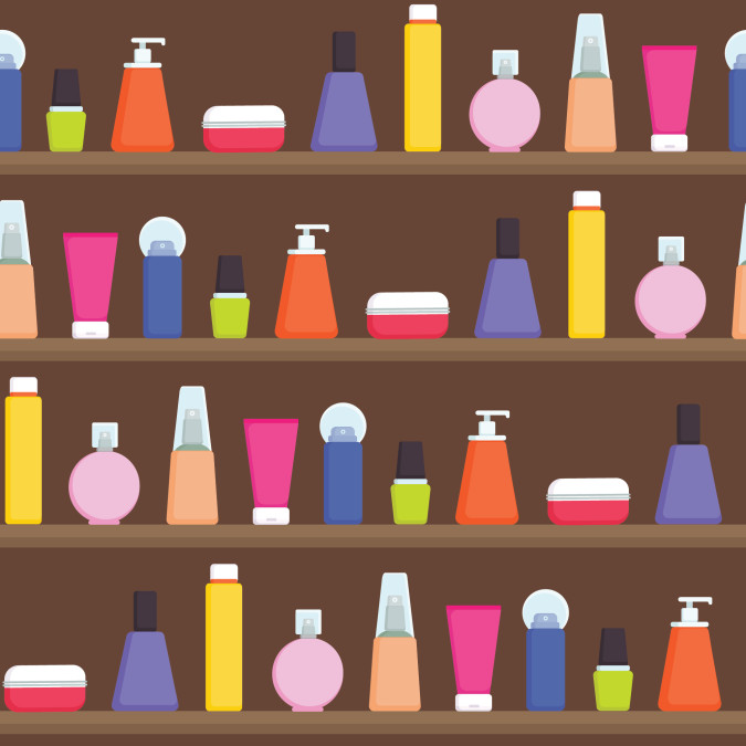 Plastic in your personal care products
